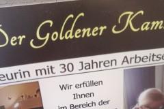 Der goldener Kamm